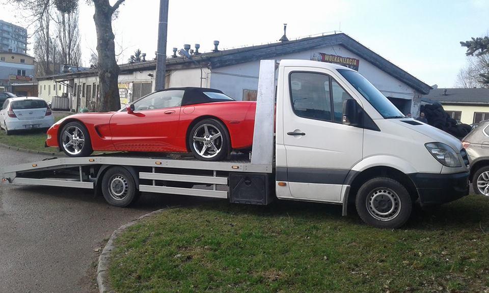 Pomoc drogowa Gdańsk, transport samochodów
